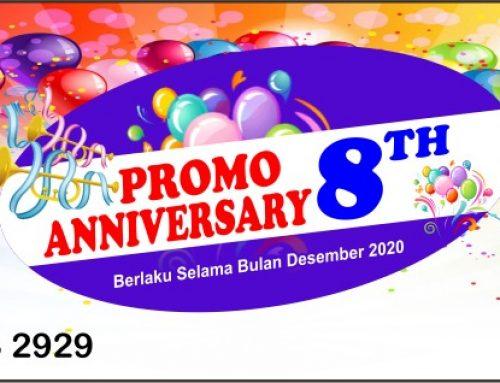 Promo anniversary 8th ProQ